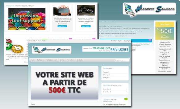 Websilver, Site internet