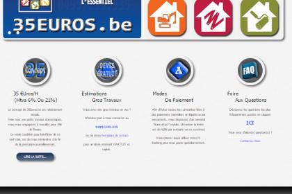 35 Euros, Site internet