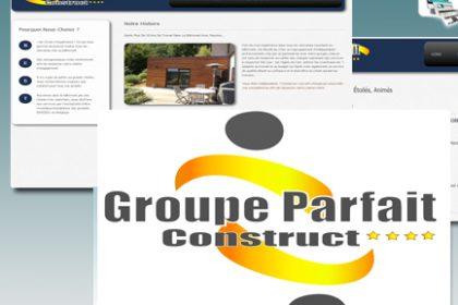 Groupe Parfait Construct, Site internet