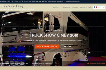 Truck Show Ciney, site internet