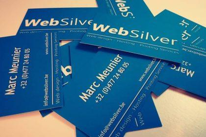 Websilver , New cartes de visite