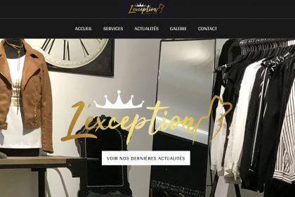 L'exception.be , Site Web