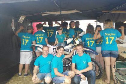 La Team Sanglier, impression Flex T-shirt