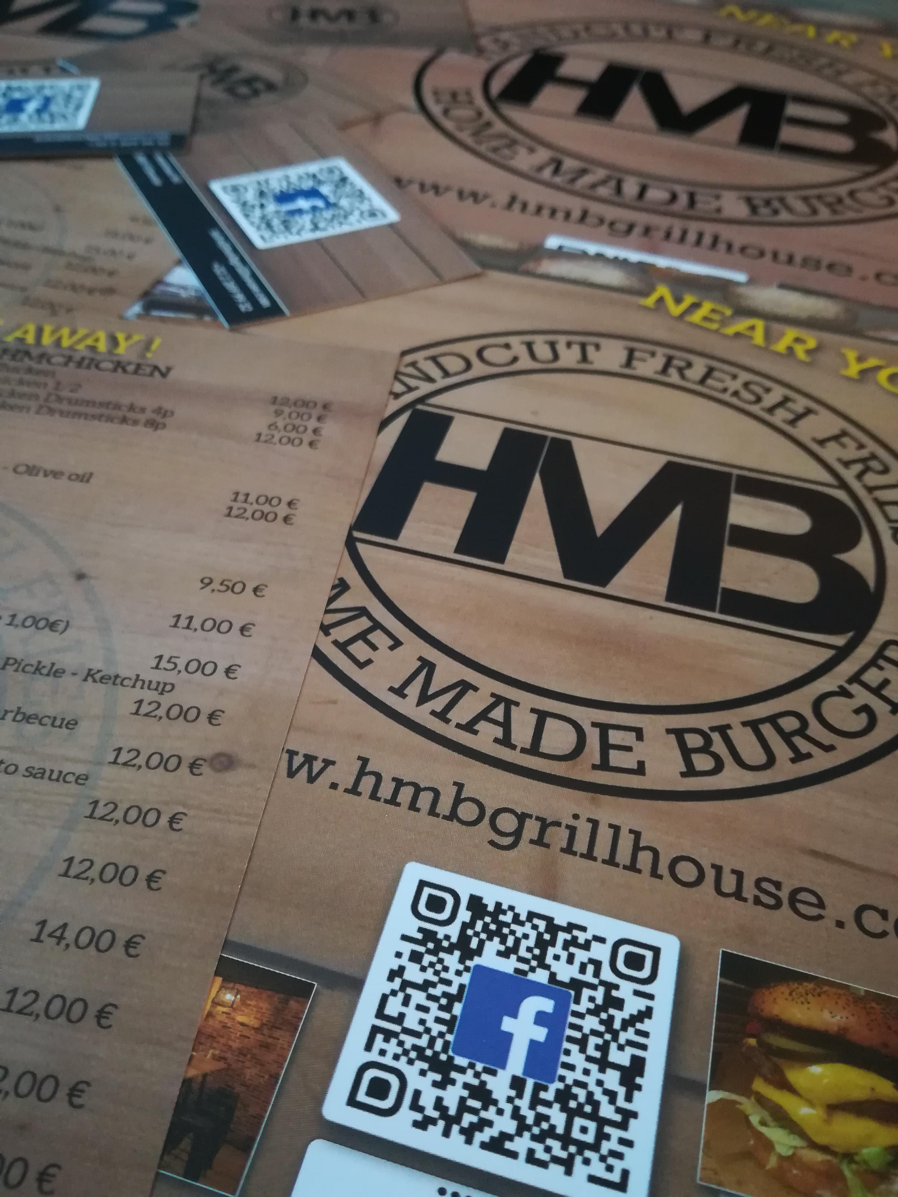 Cartes De Visite Flyers Affiches HMB GRILLHOUSE