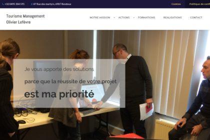 Tourisme management, Site internet