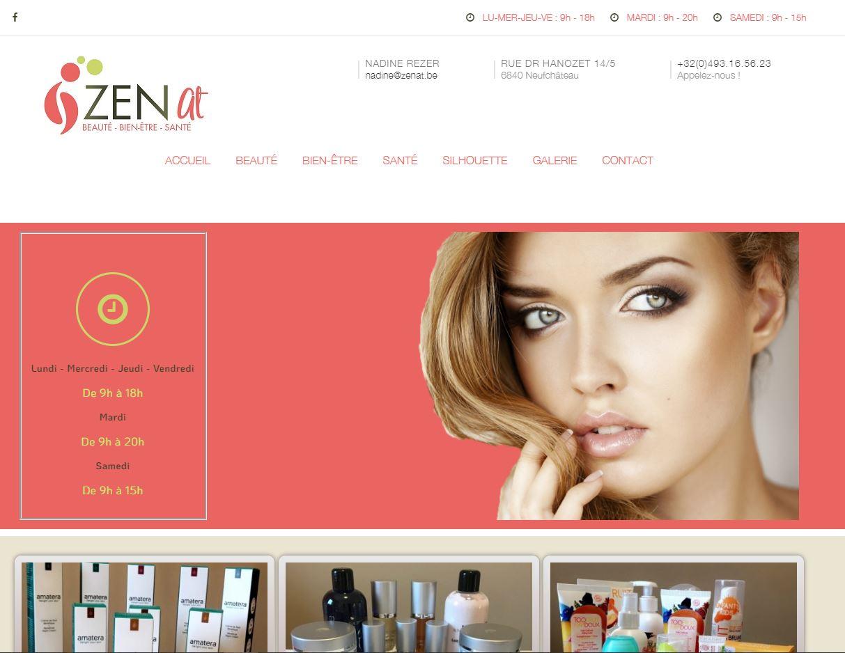 ZENAT, Site Web