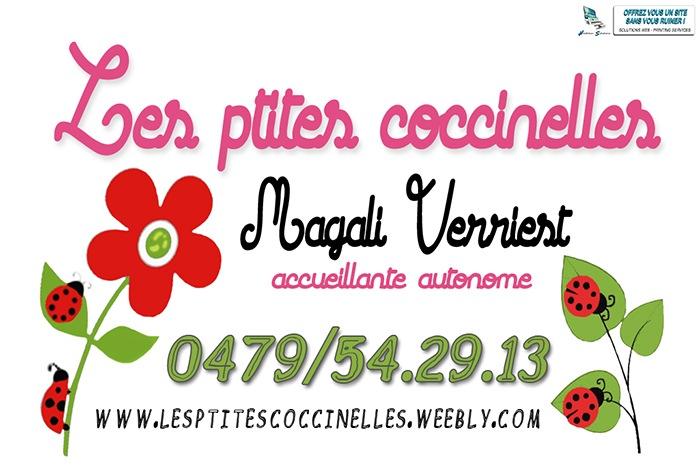 Logo les ptites coccinelles