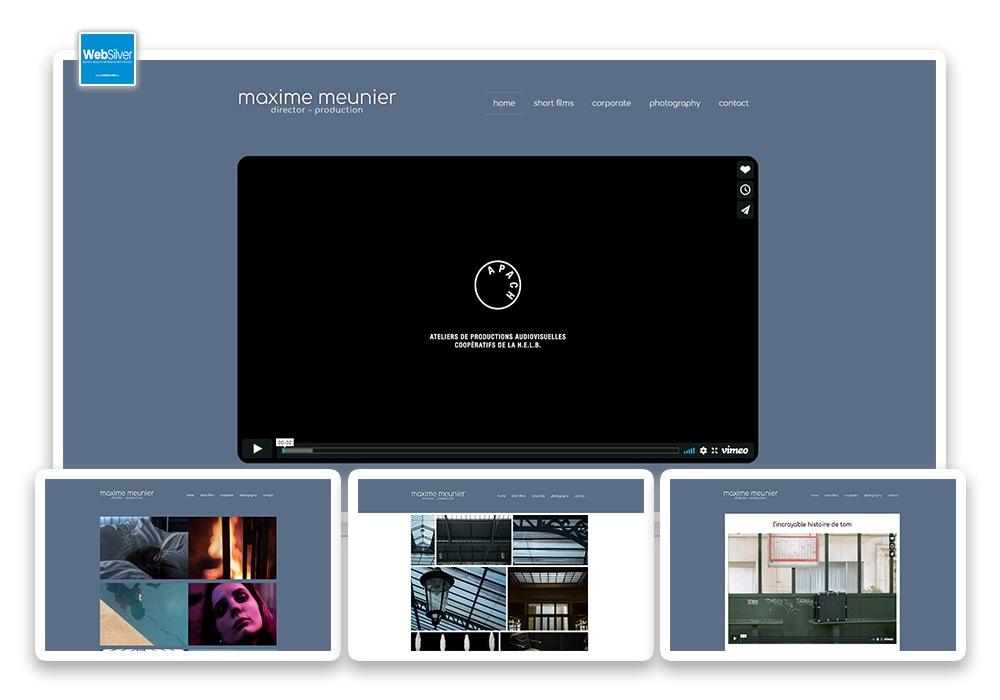 site web Maxime Meunier